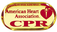 BLS (CPR) Lapel Pin - Gold