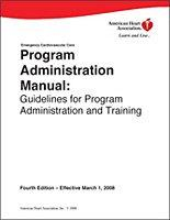 Program Administration Manual: Guidelines for Program Administration Training