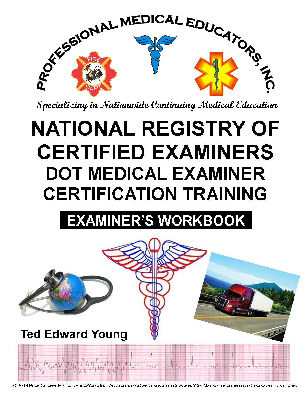 DOT Medical Examiner Workbook